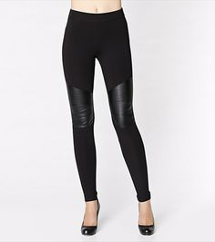 #DYNHOLIDAY Every wardrobe should have a pair of leggings with faux leather details! This pair of leggings will hug you in all the right places. Pair them with a faux leather jacket.