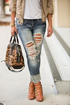 MACHINE JEANS | As Far As I Am Concerned Leopard Is Neutral