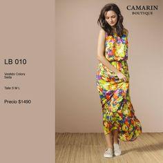 #Vestido Colors en seda