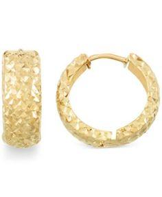 Huggy Small 18-karat Gold Hoop Earrings - one size Jennifer Meyer FMQ6ZQiD