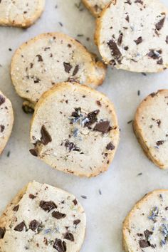 DIY Lavender Chocolate Chunk Cookie Mix in a Jar