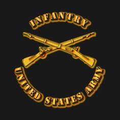 Check out this awesome 'Army+-+Infantry' design on @TeePublic!