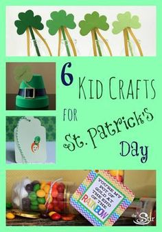 These are so adorable! 6 Kids Crafts for St. Patrick's Day http://thestir.cafemom.com/big_kid/168563/6_clever_st_patricks_day?utm_medium=sm&utm_source=pinterest&utm_content=thestir&newsletter