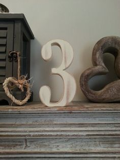 Decorative Freestanding Wedding Table Numbers  by LoveLettersMe, £8.95