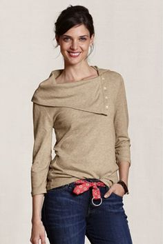"""wool cotton blend. adorable from lands end's hipper """"canvas"""" line"""