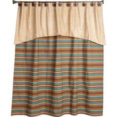 Western Desert Shower Curtain