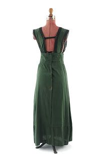 Green Edwardian Jumper Dress