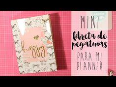 mi regalo a Luna: MINI-STICKER BOOK para el PLANNER - YouTube
