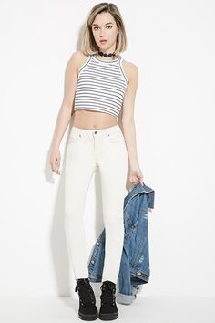 680a15fed2a804 FOREVER 21 mid-rise skinny jeans • Forever 21 •  19.90 Pacific Northwest  Fashion
