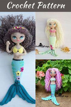 Crochet Doll Pattern, Crochet Toys Patterns, Amigurumi Patterns, Stuffed Toys Patterns, Knitting Patterns, Handmade Dolls Patterns, Doll Patterns, Beginner Crochet Tutorial, Homemade Toys