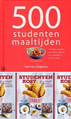Student en koken? Dat gaat prima samen, zeker met deze kookboeken :-)