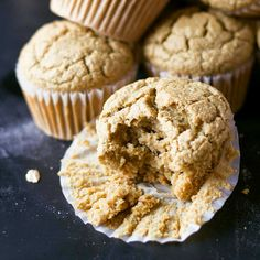 Vegan Blender Muffins via @eatwithinmeans