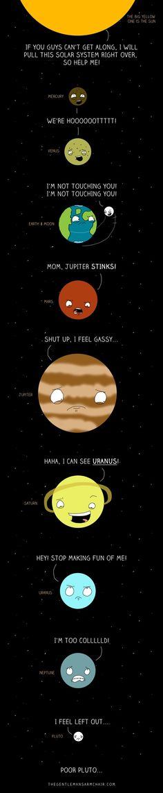 space humor.. haha my dad would love this