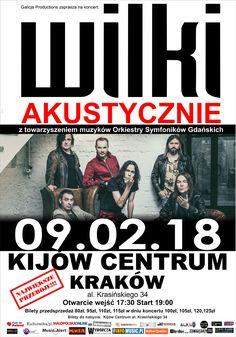 Galeria zdjęć z koncertu zespołu Wilki w Krakowie -> http://www.heavymetalandmore.pl/2018/02/wilki-akustycznie-galeria.html