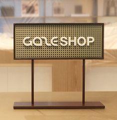 Retro Signage, Office Signage, Wayfinding Signage, Signage Design, Standing Signage, Store Layout, Outdoor Signage, Retro Office, Brand It