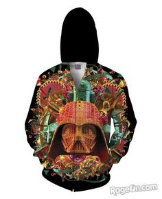Star Wars Zip-Up Hoodie *Ready to Ship* - RageOn! - The World's Largest All-Over-Print Online Store