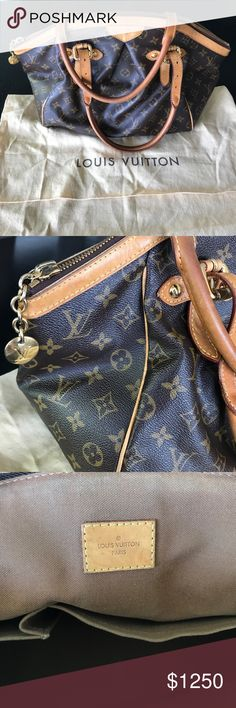 Louis Vuitton Monogram Canvas Tivoli GM Bag Authentic LV Tivoli GM. Gently used with only a couple scuffs that are barely noticeable. Comes with the LV dust bag. Louis Vuitton Bags Shoulder Bags