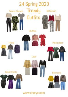 spring fashion 2020 trends 24 Spring 2020 Trendy Outfits - Chery C Spring Fashion Trends, Summer Fashion Trends, Spring Trends, Spring Summer Fashion, Spring Outfits, Style Casual, Feminine Style, Feminine Fashion, Fashion 2020