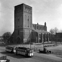 Historisches Rostock, Petrikirche, 50er, Archiv Helmut Aude