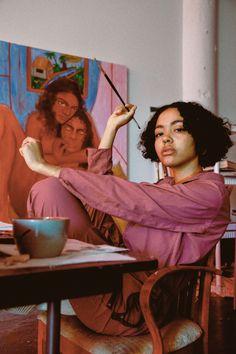 Stagnation Is an Illusion Art Hoe Aesthetic, Black Girl Aesthetic, Artist Life, Artist At Work, Tableaux Vivants, Black Artists, Jolie Photo, Art Plastique, Black Is Beautiful