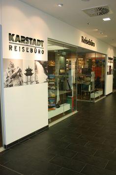 Karstadt Reisebüro, 3.Etage vom Warenhaus in Steglitz. Buchen Sie hier Ihre Kreuzfahrt oder Lastminute-Pauschalreise!