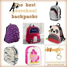 11 of the best first backpack for preschoolers and little kids.