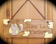 Fat Cat Super Cute Wooden Plaques for Cat Lovers by IntheWitchwood, £9.99