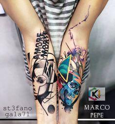 Tattoo art by Stefano Galati and Marco Pepe