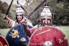 lombard warriors VII century avar style helmets
