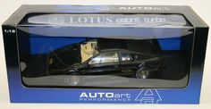 Autoart 1/18 Scale Metal Model Car - 70061 - Lotus Esprit Turbo RHD - Black #AUTOART #Lotus