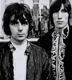 Rick Wright and Roger Waters, Pink Floyd Pink Floyd Members, Richard Wright, Psychedelic Music, Roger Waters, David Gilmour, Progressive Rock, Classic Rock, Rock Bands, Comedians