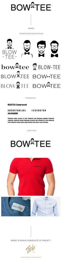 Blow Tee est une marque de textile et plus particulièrement de nœud papillon. J'ai réalisé pour deux leur logo. Vous pourrez voir les différentes propositions réalisées.  http://www.sebastien-galdeano.com/portfolio/3-Print/18-Logo/476-Blow_Tee.html