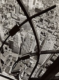 City Arabesque - by Berenice Abbott [1936]
