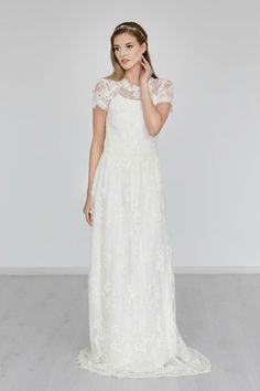 Hochzeit Kleid das Hochzeitssuite Spitzenkleid von JurgitaBridal