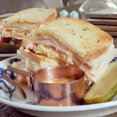 Turkey Reuben for game day (or any day)!