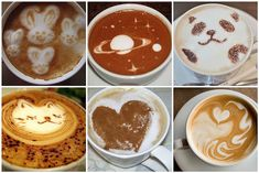 6 great pieces of coffee art