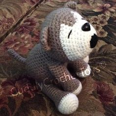 Watch This Video Incredible Crochet a Bear Ideas. Cutest Crochet a Bear Ideas. Crochet Wolf, Crochet Geek, Cute Crochet, Crochet Animals, Crochet Booties Pattern, Japanese Crochet Patterns, Crochet Phone Cases, Wolf Howling, Stuffed Toys Patterns