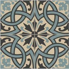See original image Retro Renovation, Spanish Tile, Encaustic Tile, Spanish Revival, Happy House, Vinyl Flooring, Porcelain Tile, Original Image, Decoration