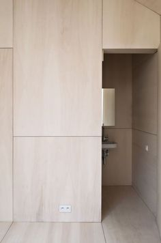 How To Add Character To Basic Architecture: Unfinished Wood - Emily Henderson Plywood Interior, Plywood Walls, Interior Walls, Interior Design Kitchen, Bathroom Interior, Interior And Exterior, Bathroom Modern, Plywood Furniture, Modern Furniture