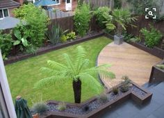 how to incorporate a small deck into a small yard #landscaping
