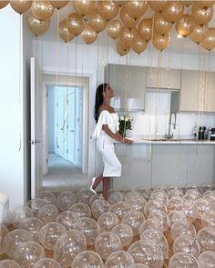 Decoração de festa em casa