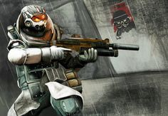 Helghast Tactician by 14th-division.deviantart.com on @deviantART