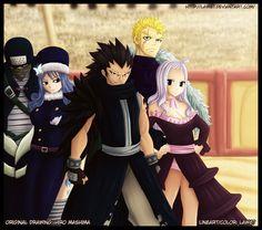 Fairy Tail Fantasy Anime - Fairy Tail Team B