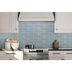 Sky Porcelain Tile - 3 x 12 - 100185818 | Floor and Decor