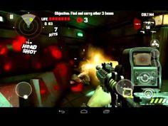 DEAD TRIGGER игровой процесc на huawei mediapad (+playlist)