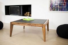 La mesa de centro Naröd aporta un toque del estilo escandinavo vintage.