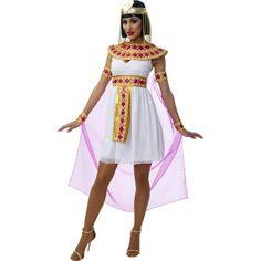 Sexy Pink Cleopatra Egyptian Queen Costume - Walmart.com