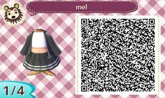 It's starting to get chilly, so lil me Mayor Dee needed something warmer! Animal Crossing Wild World, Animal Crossing 3ds, Animal Crossing Villagers, Animal Crossing Qr Codes Clothes, Animal Crossing Pocket Camp, Funny Instagram Memes, Leaf Animals, Motif Acnl, Ac New Leaf