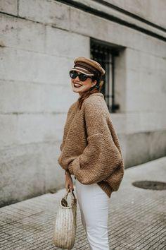 Oversized pullover stricken für den Winter Jane Birkin, Oversized Pullover, Knit Crochet, Winter Hats, Knitting, Fashion, Straws, Hampers, Knit Fashion