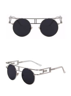 Awesome style combined with exceptional quality, performance, and comfort. Complete your look with these amazing Steampunk sunglasses.  https://steampunkheaven.net/products/steampunk-gothic-metal-frame-sunglasses?variant=28970954962